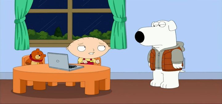 Смотреть 13 сезон 8 серию — Наш идиот Брайан — онлайн