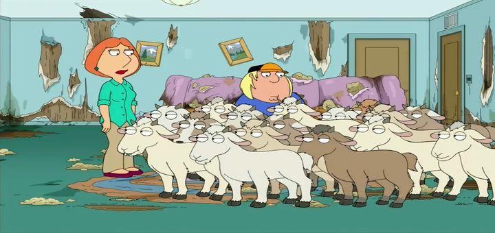 Няня для коз