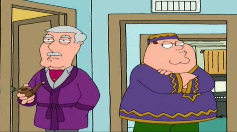 Смотреть 3 сезон 14 серию — Питер Гриффин: Муж, Отец…Брат? — онлайн