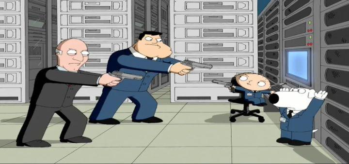 Лоис убивает Стьюи