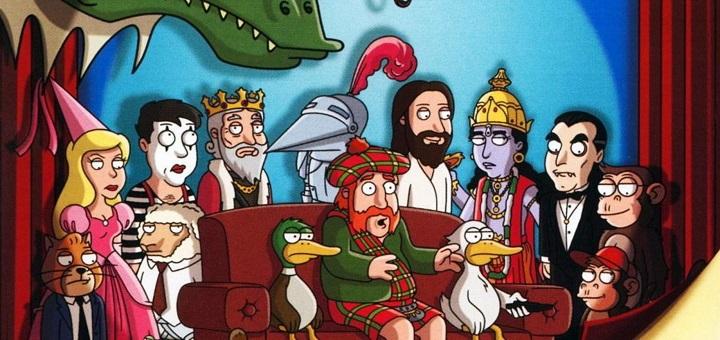 Смотреть полнометражный эпизод — Кавалькада мультипликационных комедий — онлайн