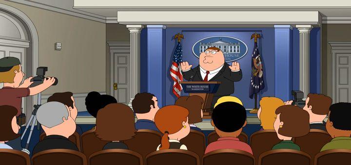 Смотреть 17 сезон 11 серию — Свойский Трамп — онлайн